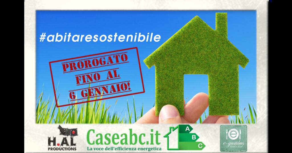Scatta il contest fotografico #abitaresostenibile!
