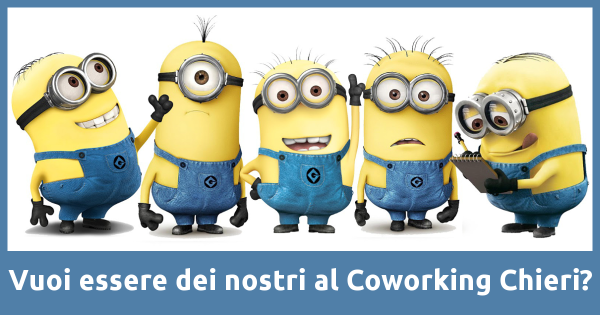 Chieri, coworking in progress