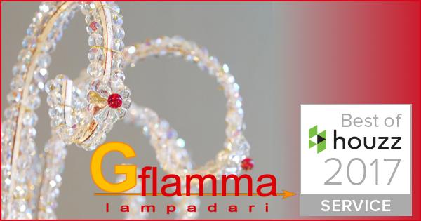 Flamma Lampadari vince il premio Houzz per la soddisfazione del cliente