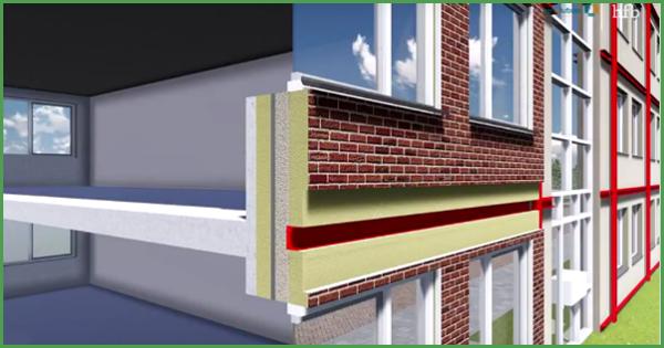 Dettaglio del sistema a scatto ideato da Renolution per la riqualificazione energetica degli immobili. Progetto Energiesprong