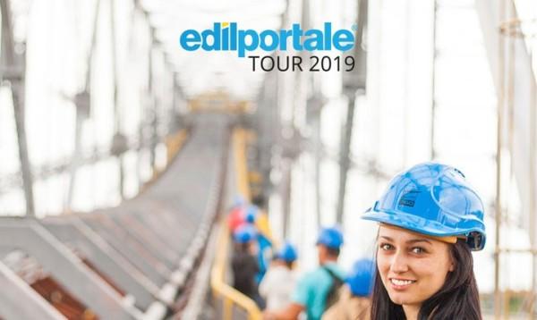 Edilportale Tour 2019 presenta l'edilizia del futuro